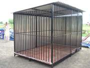 Вольеры для животных с прутьями или из сетки с бесплатной доставкой по