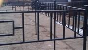 Ритуальные  ограды с бесплатной доставкой по всей территории  Беларуси